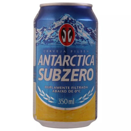 Cerveja Antarctica Subzero Lata 350ml (Gelada)