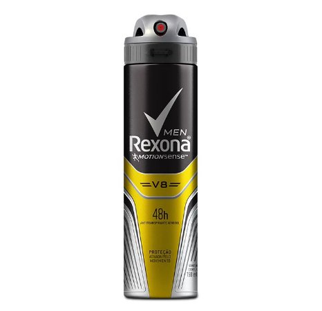 Desodorante Aerossol Masculino V8 Rexona Men 150ml