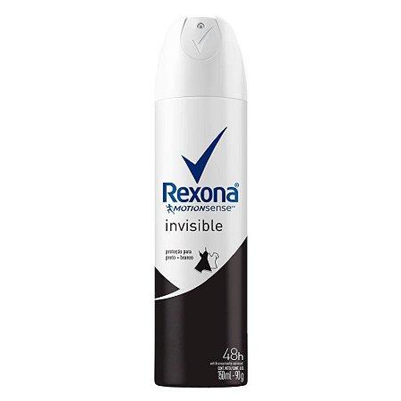 Desodorante Aerossol Feminino Invisible Rexona 90g