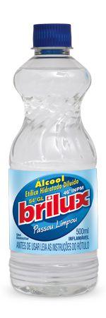 Álcool Etílico Hidratado Brilux 500ml