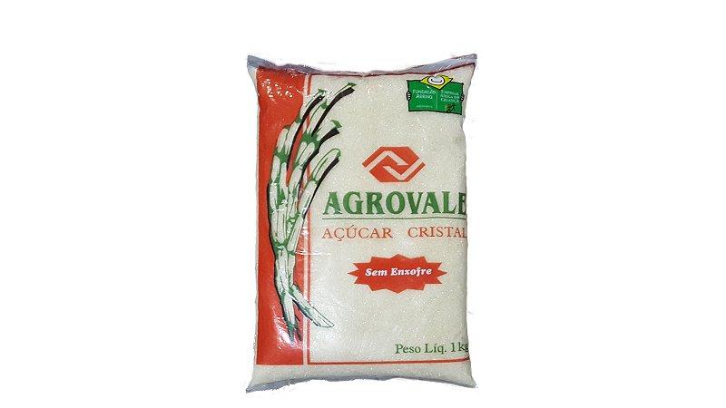Açúcar Cristal Agrovale 1kg