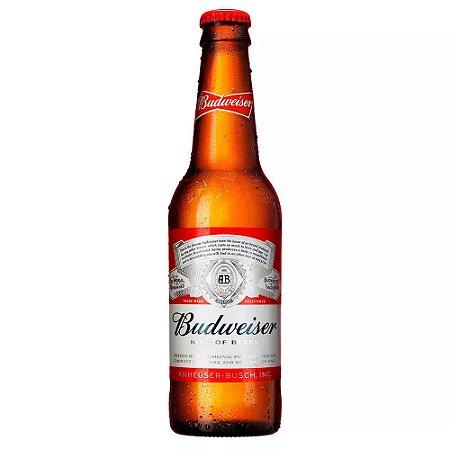 Cerveja Americana Budweiser Long Neck 343ml