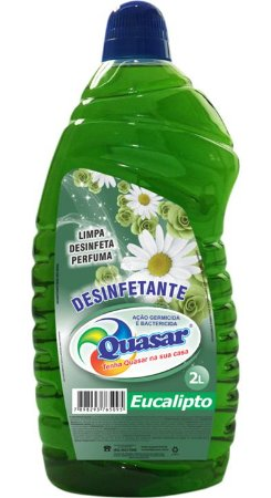 Desinfetante Quasar  Eucalipto 2L