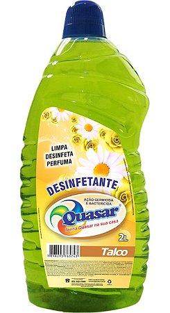 Desinfetante Quasar Talco 2L
