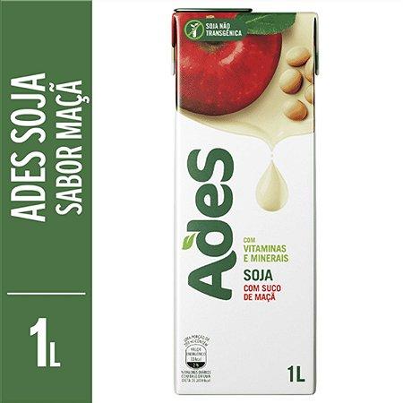 Bebida de Soja sabor Maçã Ades 1 Litro