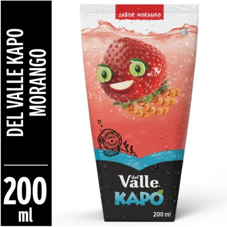Suco Kapo Morango 200ml