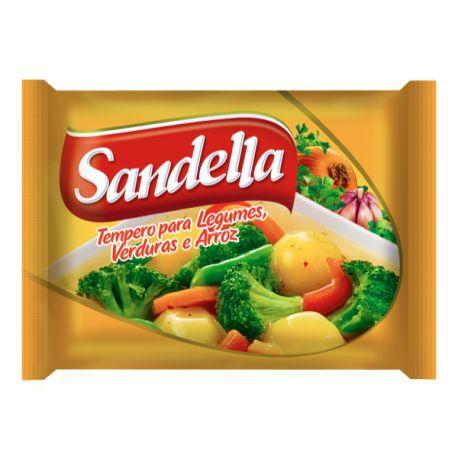 Tempero Sandella Legumes Verdura 50g