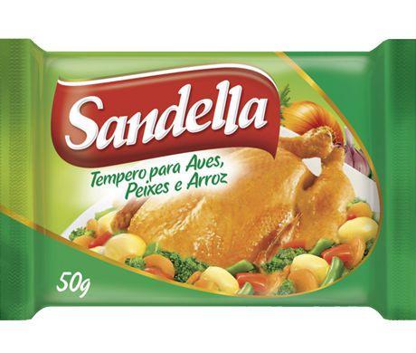Tempero Sandella Aves Peixe 50g