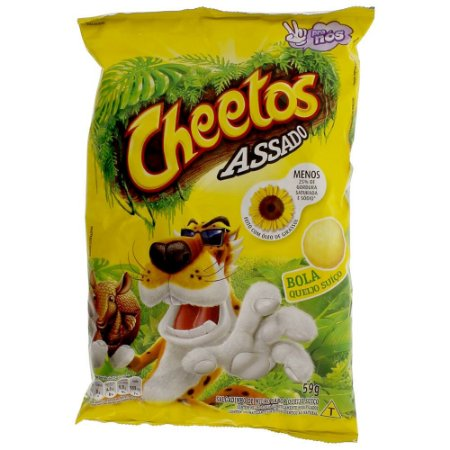 Salgadinho Bola de Queijo Suiço Cheetos 59g