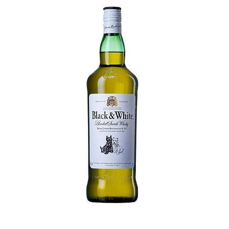 Whisky Escocês Black & White 8 Anos 1 Litro