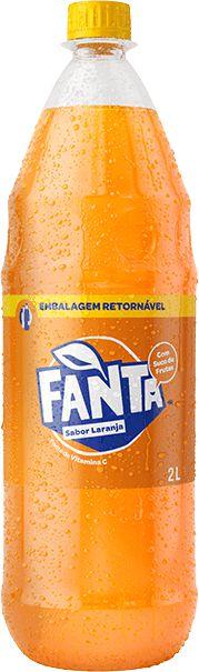 Refrigerante Retornável Fanta Laranja  2 Litros