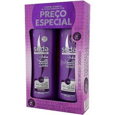 Kit Shampoo + Condicionador Seda Liso Perfeito 325ml
