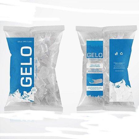 Gelo em cubo pacote