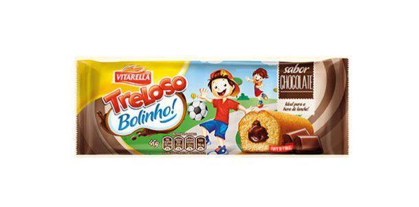 Bolinho Treloso Baunilha com recheio de chocolate 40g