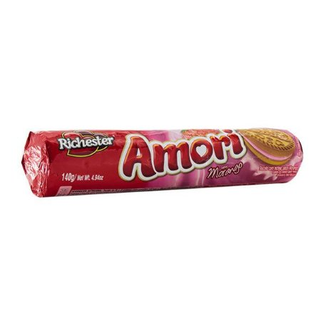 Biscoito Recheado Richester Amori Morango 140g