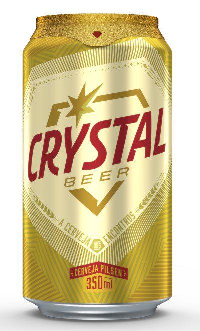 Cerveja Crystal Lata 350ml (Gelada)