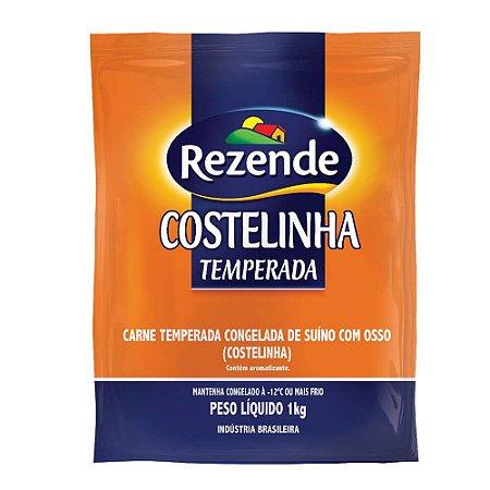 Carne Suína Costelinha Temperada Rezende 1kg