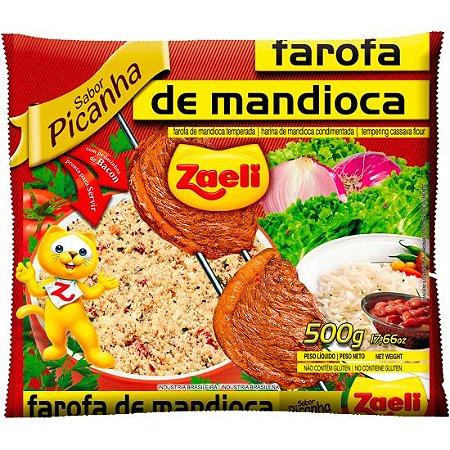 Farofa de Mandioca Picanha Zaeli 500g