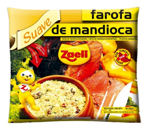 Farofa de Mandioca Suave 250g