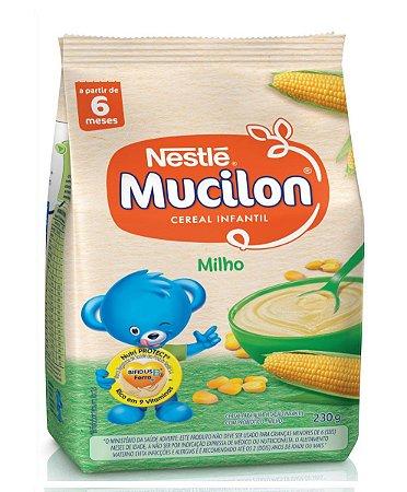 Cereal de Milho Mucilon Nestlé Sache 230g