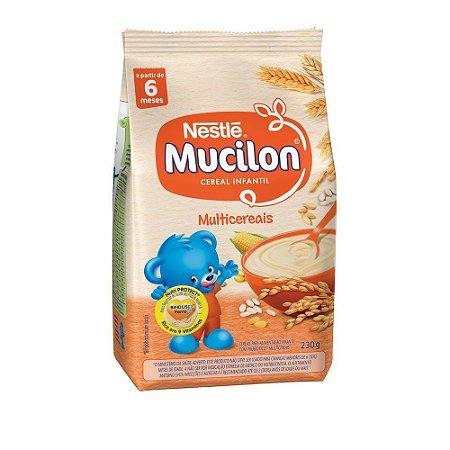 Cereal Infantil Multicereais Mucilon Nestlé 230g