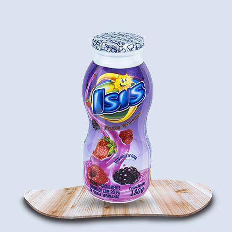 Iogurte Isis Frutas Vermelhas 180g