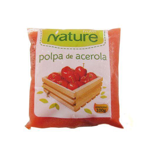 Polpa de Frutas Nature Acerola 100g