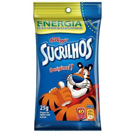 Cereal Sucrilhos Tradicional Kellogg's Pacote 25g