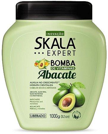 Creme de Tratamento Skala Bomba de Vitaminas com Abacate 1kg
