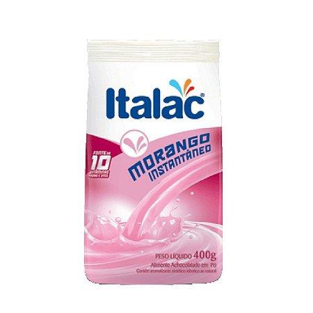 Alimento em Pó Sabor Morango ITALAC Sachê 400g