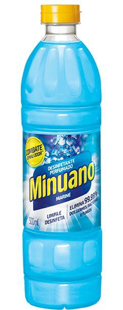 Desinfetante Perfumado Herbal Minuano 500ml