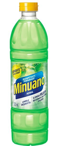 Desinfetante Minuano Herbal 500ml