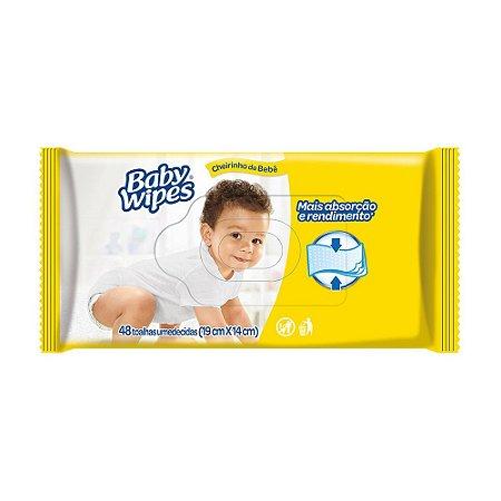 Lenço Umedecido Huggies Baby Wipes 48 unidades