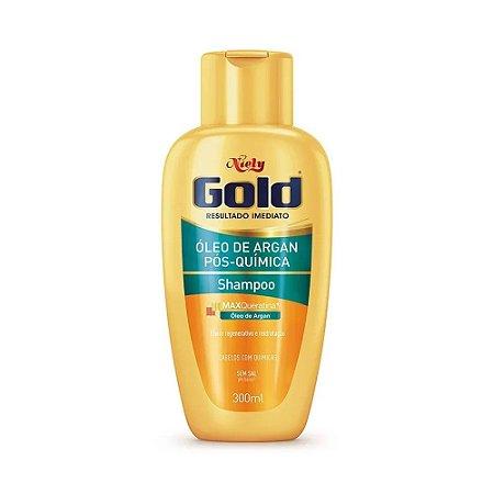 Shampoo Niely Gold Pós Química Óleo de Argan - 300ml