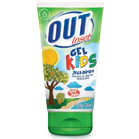 Repelente Gel Out Inset Kids 120g