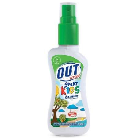 Repelente Spray Out Inset Kids 100ml