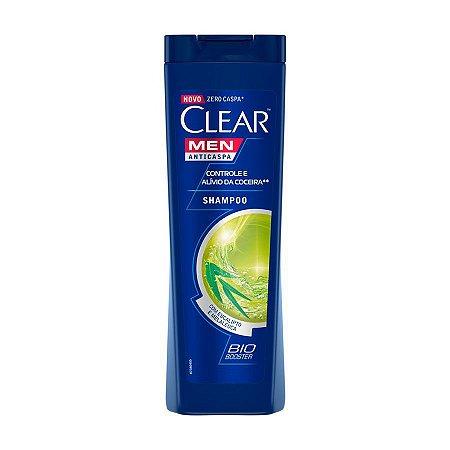 Shampoo Anticaspa CLEAR Men Controle e Alívio da Coceira 200ml