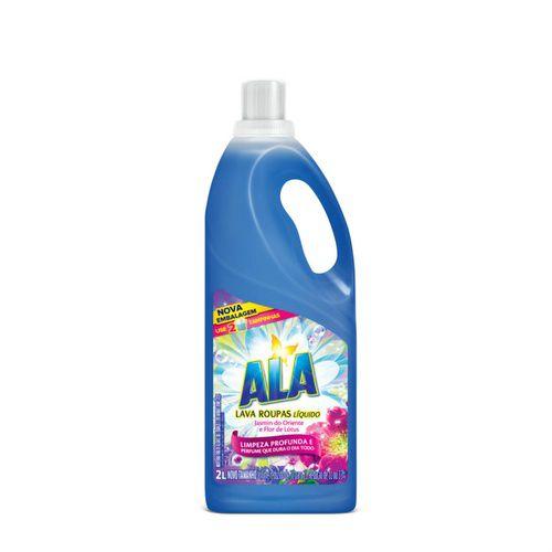 Detergente Líquido Ala Jasmim do Oriente e Flor de Lótus 2L