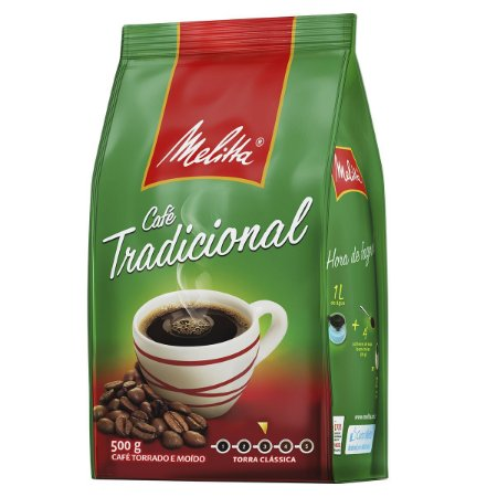 Café Melitta Tradicional Pacote 500g