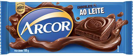Chocolate ao Leite Arcor 100g