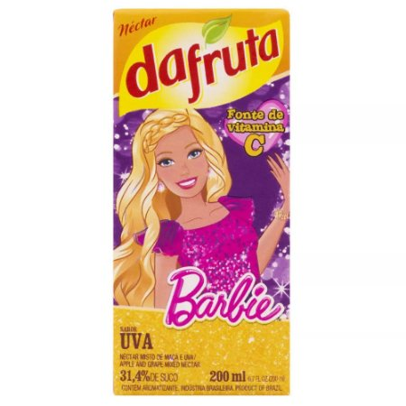Néctar de Uva Barbie Da Fruta 200ml