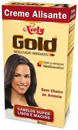 Creme Alisante Niely Gold 180g