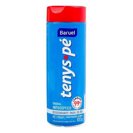Desodorante para os Pés Tenys Pé Baruel em Pó Original 100g