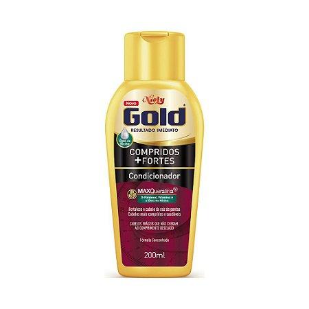 Condicionador Niely Gold Compridos + Fortes 200ml