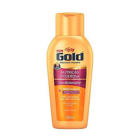 Condicionador Niely Gold Nutrição Poderosa 200ml