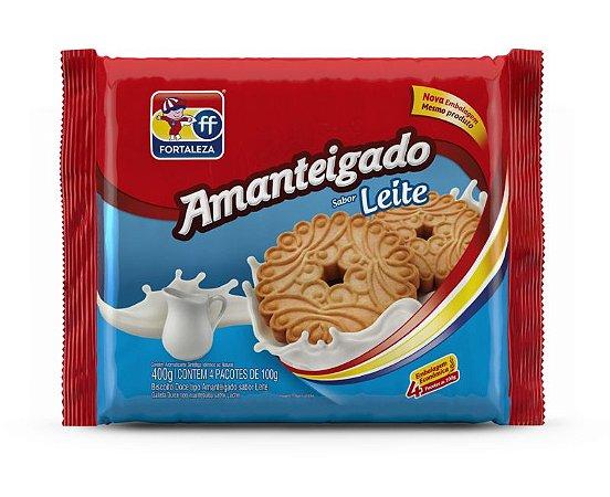 Biscoito Amanteigado de Leite Fortaleza 400g