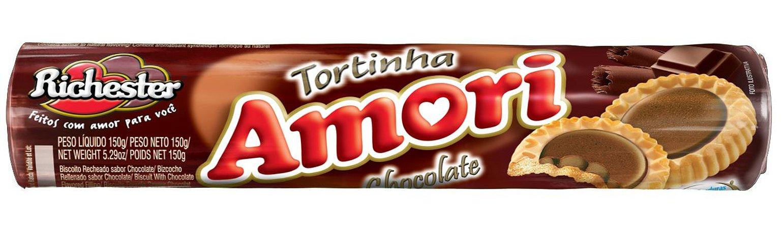 Biscoito Richester Tortinha Chocolate 150g