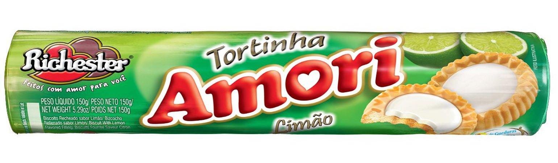 Biscoito Richester Tortinha Limão 150g
