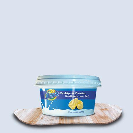 Manteiga Isis Com Sal 200g