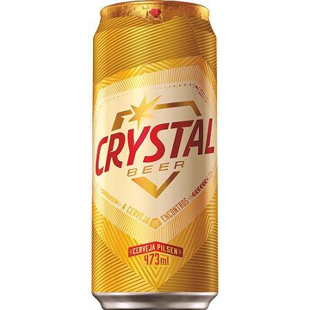 Cerveja Crystal Lata 473ml